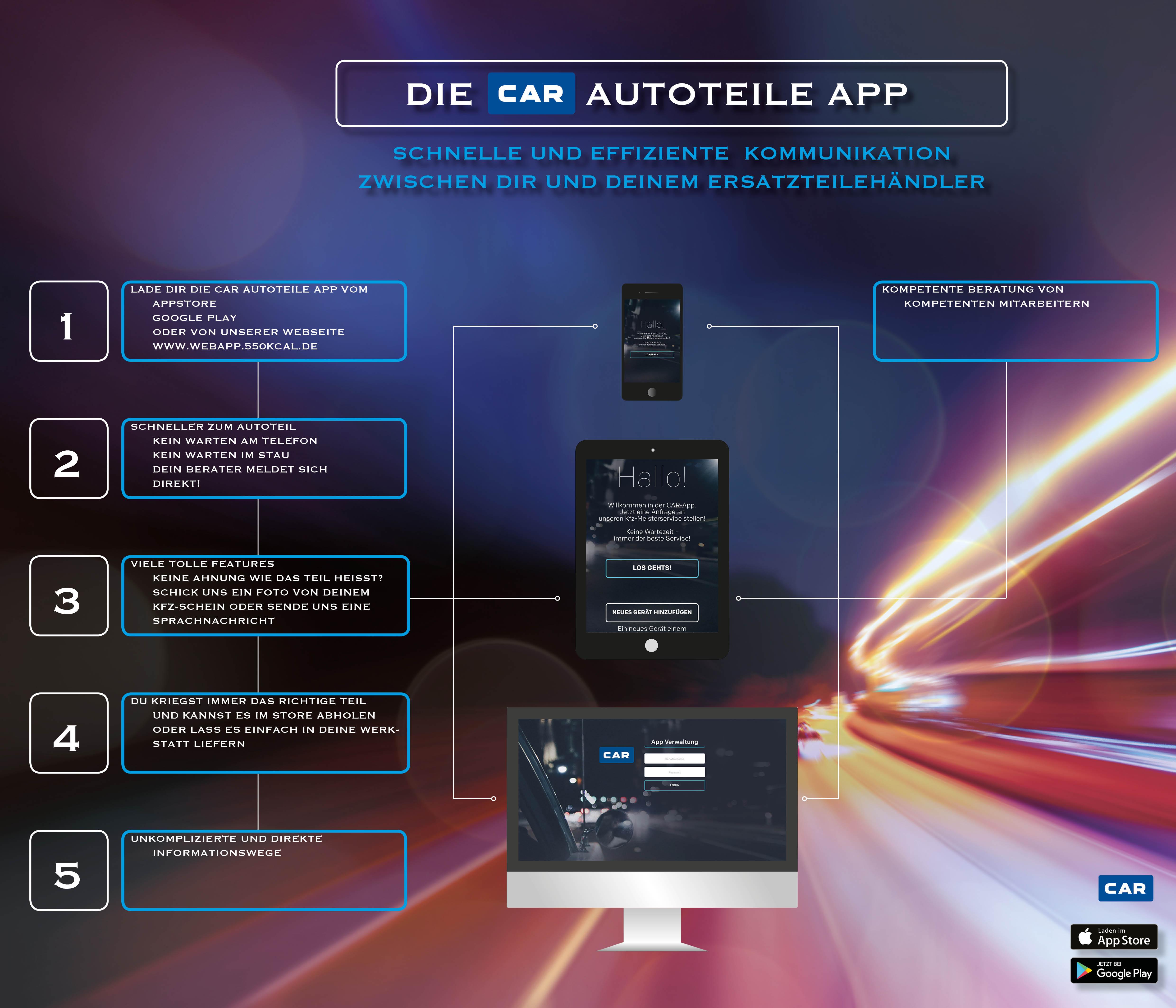 App – CAR Centraler Autoersatzteile Ring